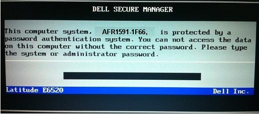 Reset or Remove Bios passwords on Dell Inspiron 5558 Laptop